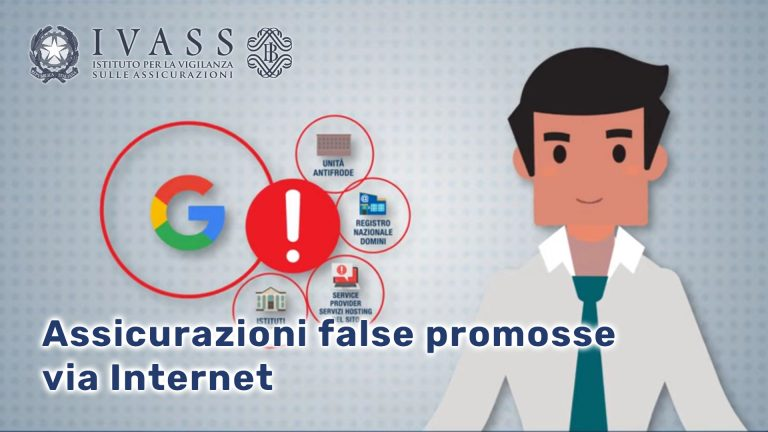Assicurazioni false promosse via Internet